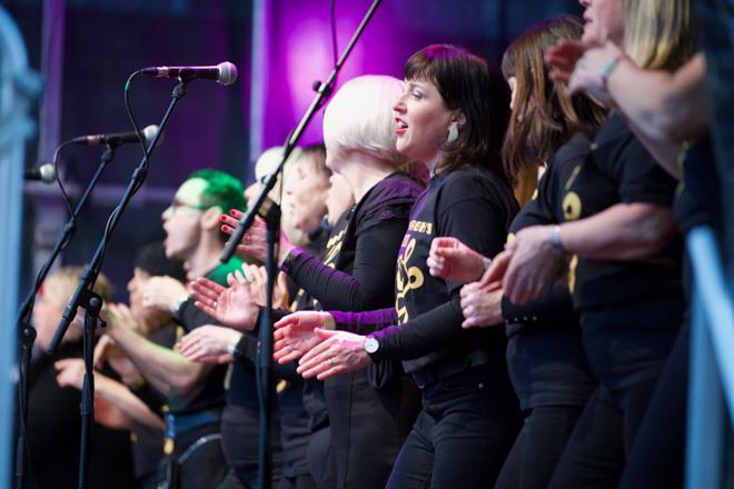 Edinburgh Christmas, Light night Choral Performances