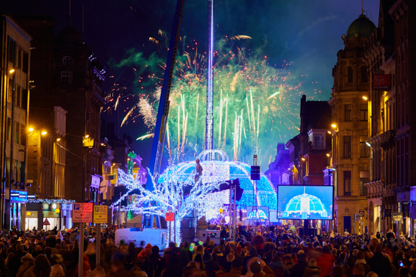 Edinburgh Christmas, Light Night