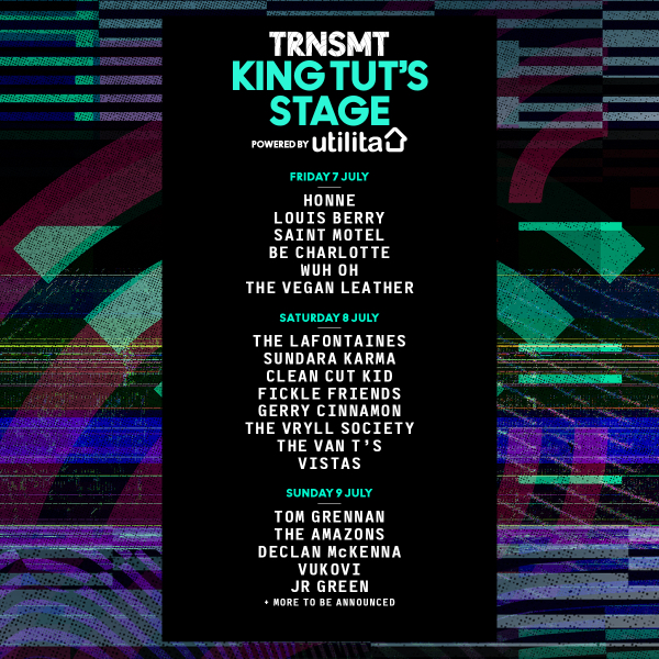 BREAKTHROUGH ARTISTS JOIN TRNSMT LINE-UP