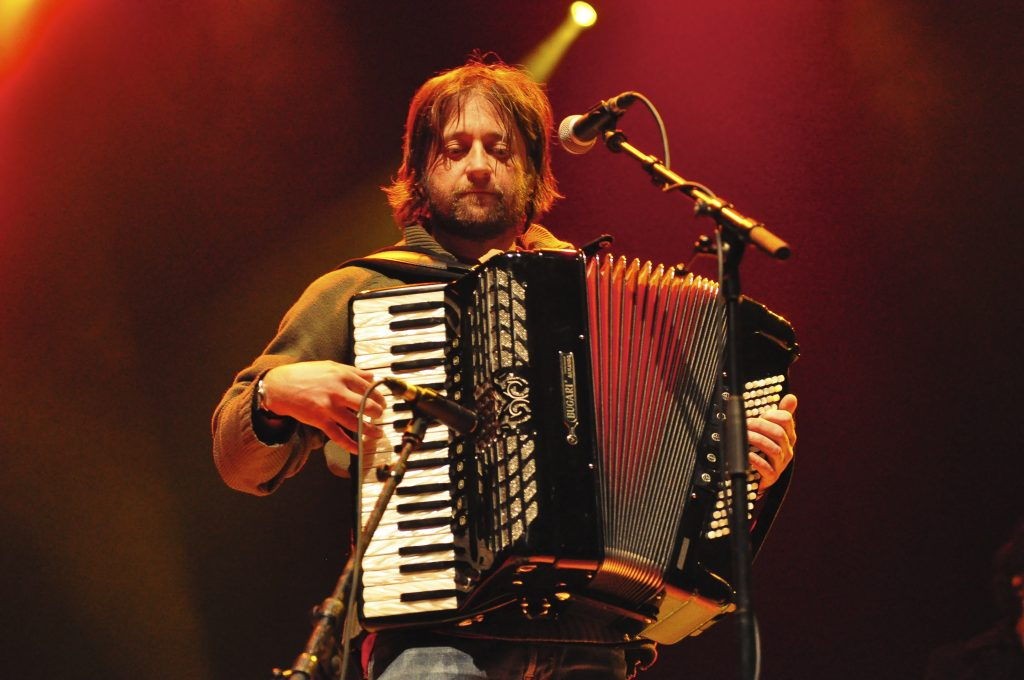 King Creosote & band, a live accompaniment to the film From Scotland With Love